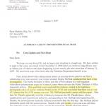 Lawyer's Letter Pg. 1