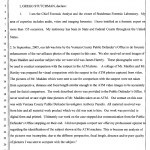 Stutchman Affidavit Pg 1